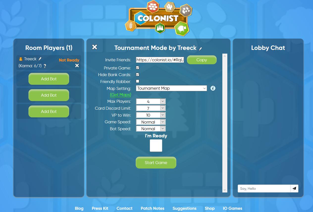 Tournament-Mode